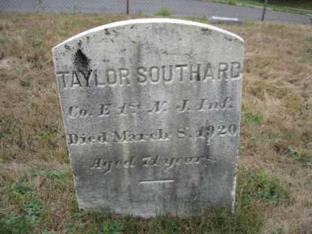 SOUTHARD, TAYLOR - Burlington County, New Jersey | TAYLOR SOUTHARD - New Jersey Gravestone Photos