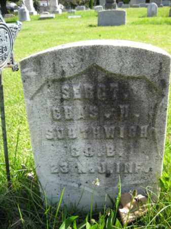 SOUTHWICK, CHARLES H. - Burlington County, New Jersey | CHARLES H. SOUTHWICK - New Jersey Gravestone Photos