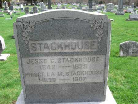 STACKHOUSE, JESSE C. - Burlington County, New Jersey | JESSE C. STACKHOUSE - New Jersey Gravestone Photos