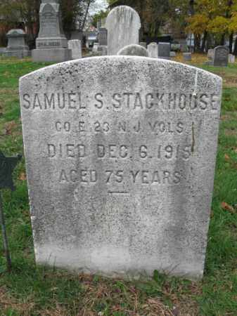 STACKHOUSE, SAMUEL S. - Burlington County, New Jersey   SAMUEL S. STACKHOUSE - New Jersey Gravestone Photos