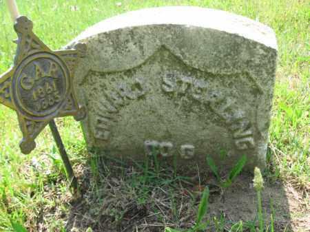 STERLING, EDWARD - Burlington County, New Jersey | EDWARD STERLING - New Jersey Gravestone Photos