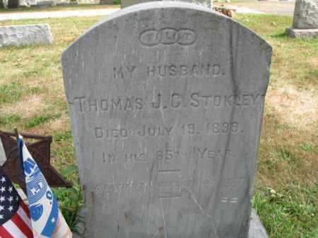 STOKLEY, THOMAS J.C. - Burlington County, New Jersey | THOMAS J.C. STOKLEY - New Jersey Gravestone Photos