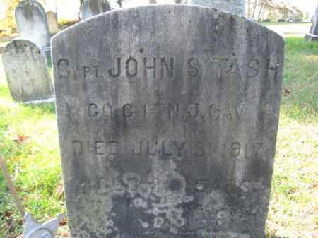 TASH, CAPT.JOHN S.(L) - Burlington County, New Jersey | CAPT.JOHN S.(L) TASH - New Jersey Gravestone Photos