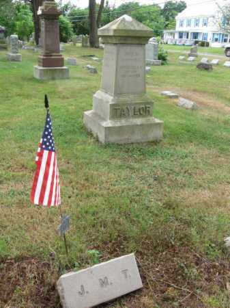 TAYLOR, JOHN M. - Burlington County, New Jersey   JOHN M. TAYLOR - New Jersey Gravestone Photos