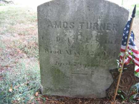 TURNER, AMOS - Burlington County, New Jersey | AMOS TURNER - New Jersey Gravestone Photos