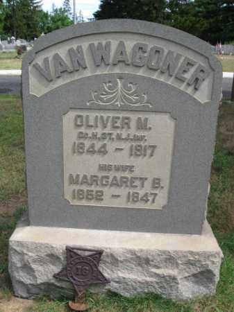VAN WAGONER, OLIVER M. - Burlington County, New Jersey   OLIVER M. VAN WAGONER - New Jersey Gravestone Photos