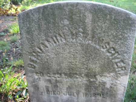 VANSCIVER, BENJAMIN H. - Burlington County, New Jersey | BENJAMIN H. VANSCIVER - New Jersey Gravestone Photos
