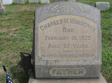 VANSCIVER, CHARLES H. - Burlington County, New Jersey | CHARLES H. VANSCIVER - New Jersey Gravestone Photos