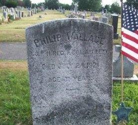 WALLACE, PHILIP - Burlington County, New Jersey   PHILIP WALLACE - New Jersey Gravestone Photos