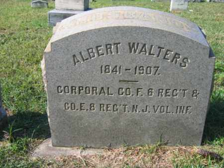 WALTERS, CORP.ALBERT - Burlington County, New Jersey | CORP.ALBERT WALTERS - New Jersey Gravestone Photos
