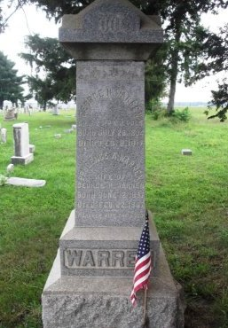 WARREN, GEORGE H. - Burlington County, New Jersey | GEORGE H. WARREN - New Jersey Gravestone Photos