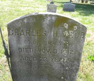 WEBB, CHARLES  H. - Burlington County, New Jersey | CHARLES  H. WEBB - New Jersey Gravestone Photos
