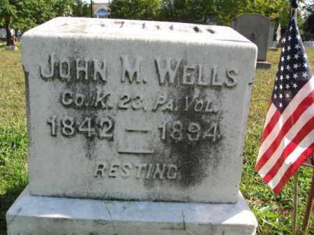 WELLS, JOHN M. - Burlington County, New Jersey | JOHN M. WELLS - New Jersey Gravestone Photos