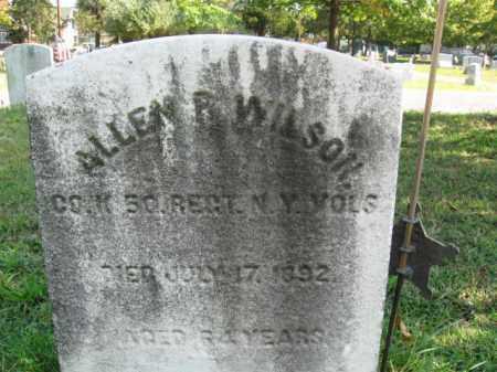 WILSON, ALLEN R. - Burlington County, New Jersey   ALLEN R. WILSON - New Jersey Gravestone Photos