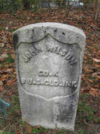 WILSON, JOHN - Burlington County, New Jersey | JOHN WILSON - New Jersey Gravestone Photos