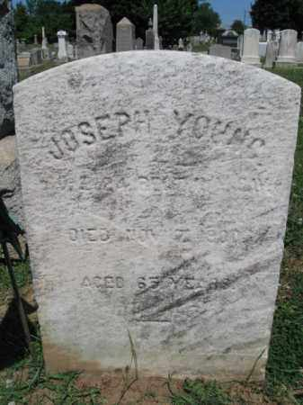 YOUNG, JOSEPH - Burlington County, New Jersey | JOSEPH YOUNG - New Jersey Gravestone Photos