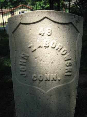ZABOROWSKI, PVT.JOHN - Burlington County, New Jersey | PVT.JOHN ZABOROWSKI - New Jersey Gravestone Photos