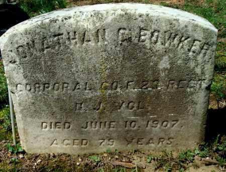 BOWKER, JONATHAN G. - Camden County, New Jersey | JONATHAN G. BOWKER - New Jersey Gravestone Photos