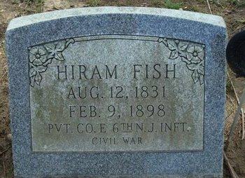 FISH, HIRAM - Camden County, New Jersey | HIRAM FISH - New Jersey Gravestone Photos