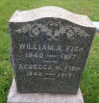FISH, WILLIAM A. - Camden County, New Jersey | WILLIAM A. FISH - New Jersey Gravestone Photos