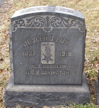 FOX, JOSEPH B. - Camden County, New Jersey | JOSEPH B. FOX - New Jersey Gravestone Photos