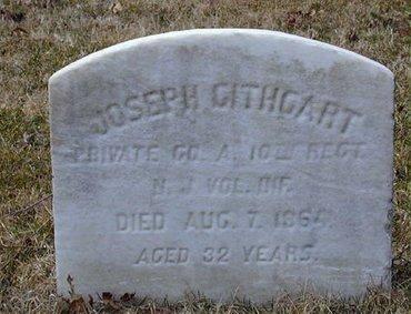 GITHCART, JOSEPH - Camden County, New Jersey | JOSEPH GITHCART - New Jersey Gravestone Photos