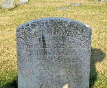 JONES, WILLIAM H. - Camden County, New Jersey | WILLIAM H. JONES - New Jersey Gravestone Photos