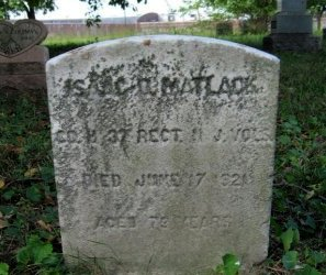 MATLACK, ISAAC D. - Camden County, New Jersey | ISAAC D. MATLACK - New Jersey Gravestone Photos