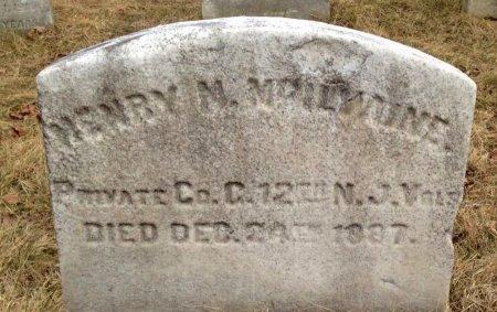 MCILVAINE, HENRY M. - Camden County, New Jersey | HENRY M. MCILVAINE - New Jersey Gravestone Photos