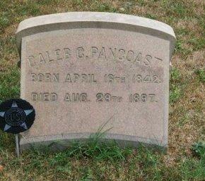 PANCOAST (PENCOST), CALEB . - Camden County, New Jersey | CALEB . PANCOAST (PENCOST) - New Jersey Gravestone Photos