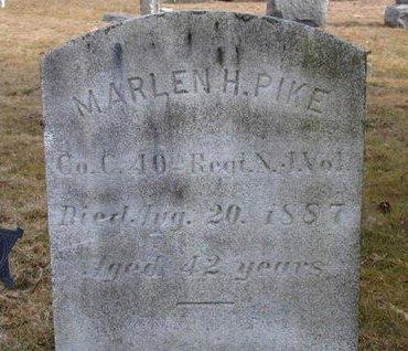 PIKE, MARLEN H. - Camden County, New Jersey | MARLEN H. PIKE - New Jersey Gravestone Photos