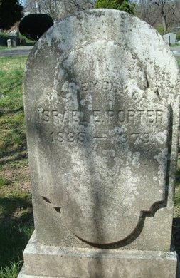PORTER, ISRAEL E. - Camden County, New Jersey   ISRAEL E. PORTER - New Jersey Gravestone Photos