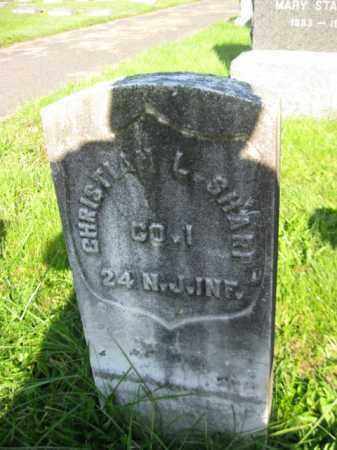 SHARP, CHRISTIAN - Camden County, New Jersey | CHRISTIAN SHARP - New Jersey Gravestone Photos