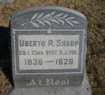 SHARP, UBERTO R. - Camden County, New Jersey | UBERTO R. SHARP - New Jersey Gravestone Photos