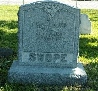 SWOPE, WILLIAM H. - Camden County, New Jersey | WILLIAM H. SWOPE - New Jersey Gravestone Photos