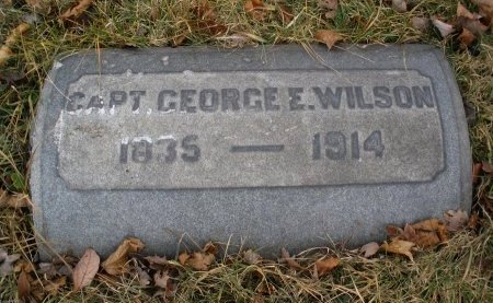 WILSON, GEORGE E. - Camden County, New Jersey   GEORGE E. WILSON - New Jersey Gravestone Photos