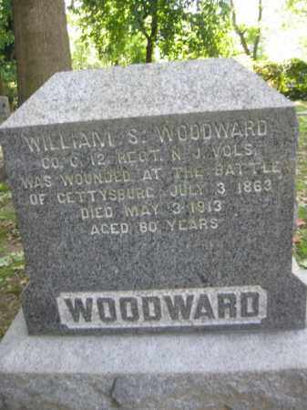 WOODWARD, WILLIAM S. - Camden County, New Jersey | WILLIAM S. WOODWARD - New Jersey Gravestone Photos