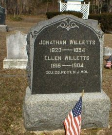 WILLETTS, JONATHAN - Cape May County, New Jersey | JONATHAN WILLETTS - New Jersey Gravestone Photos