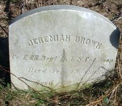 BROWN, JEREMIAH - Cumberland County, New Jersey | JEREMIAH BROWN - New Jersey Gravestone Photos