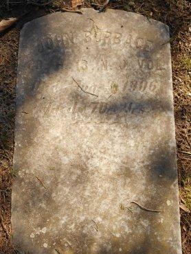 BURBAGE, JOHN - Cumberland County, New Jersey   JOHN BURBAGE - New Jersey Gravestone Photos