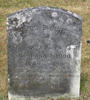 BURT, AMOS S. - Cumberland County, New Jersey   AMOS S. BURT - New Jersey Gravestone Photos