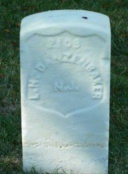 DANZENBAKER, LEWIS H. - Cumberland County, New Jersey   LEWIS H. DANZENBAKER - New Jersey Gravestone Photos