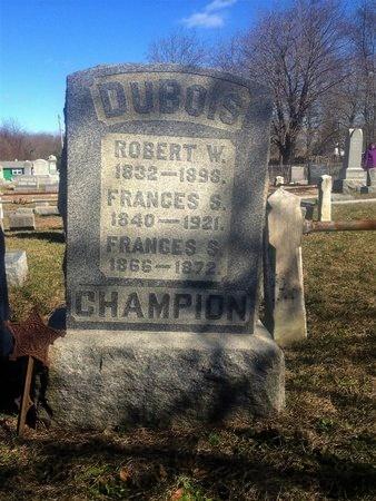 DUBOIS, ROBERT W. - Cumberland County, New Jersey | ROBERT W. DUBOIS - New Jersey Gravestone Photos