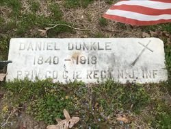 DUNKLE, DANIEL - Cumberland County, New Jersey | DANIEL DUNKLE - New Jersey Gravestone Photos