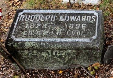 EDWARDS, RUDOLPH - Cumberland County, New Jersey   RUDOLPH EDWARDS - New Jersey Gravestone Photos