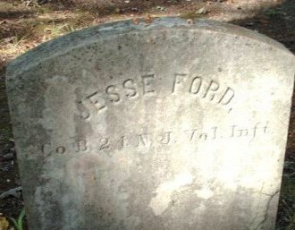 FORD, JESSE - Cumberland County, New Jersey   JESSE FORD - New Jersey Gravestone Photos