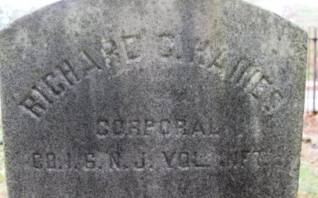 HAINES, RICHARD C. - Cumberland County, New Jersey   RICHARD C. HAINES - New Jersey Gravestone Photos