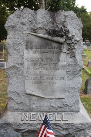 NEWELL, WILLIAM L. - Cumberland County, New Jersey | WILLIAM L. NEWELL - New Jersey Gravestone Photos