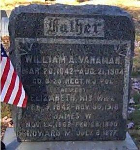 VANAMAN, WILLIAM A. - Cumberland County, New Jersey | WILLIAM A. VANAMAN - New Jersey Gravestone Photos
