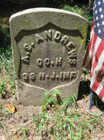 ANDREWS, ALEXANDER S. - Essex County, New Jersey | ALEXANDER S. ANDREWS - New Jersey Gravestone Photos